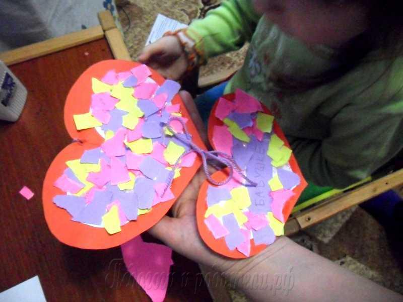 Валентинка своими руками мастер класс для детей