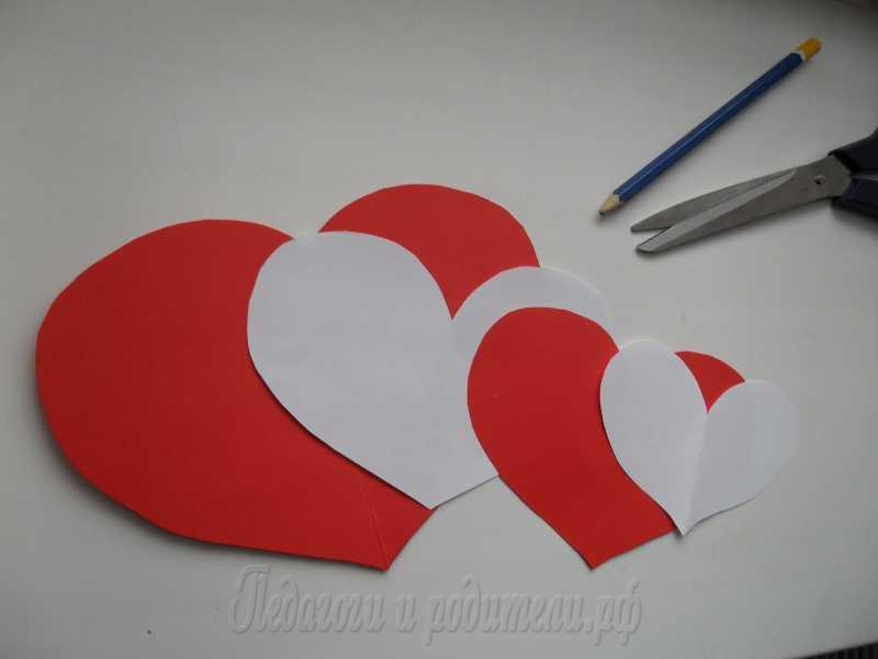 Валентинки на быструю руку / валентинки своими руками