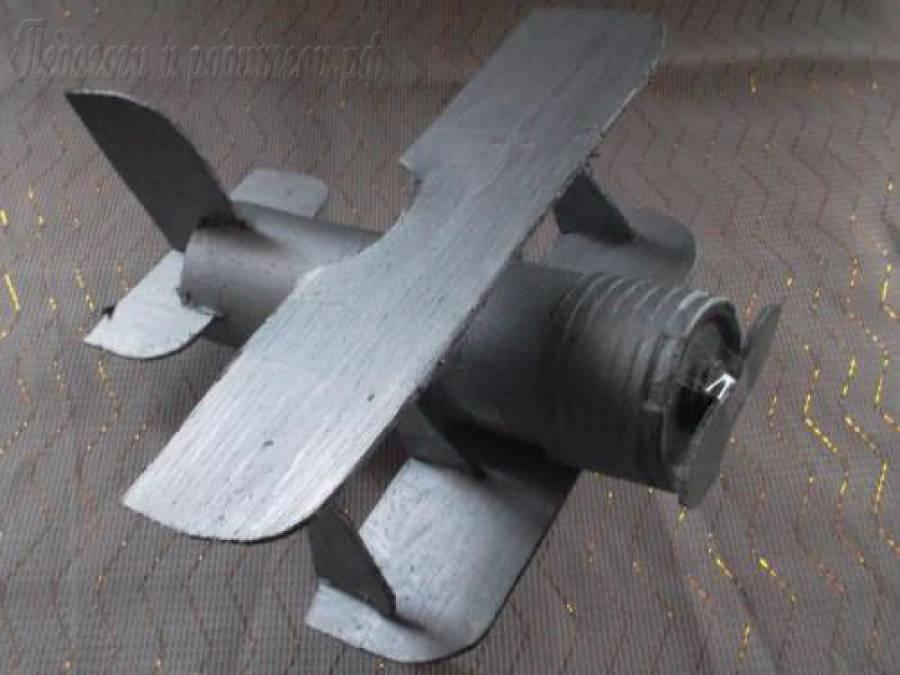 Самолетик из металла своими руками 99