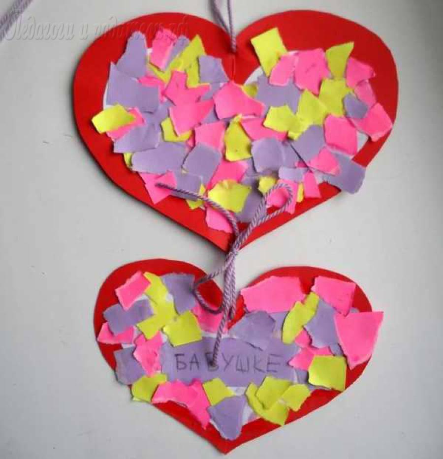 pobedpix.com / Поделки на День Святого Валентина С Детьми